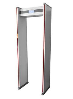 厂家供应 体温检测安检门 7寸红外测温安检门 体温筛查安检门
