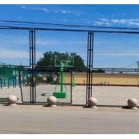 咸阳市球场隔离网 足球场勾花网 羽毛球场护栏网定制