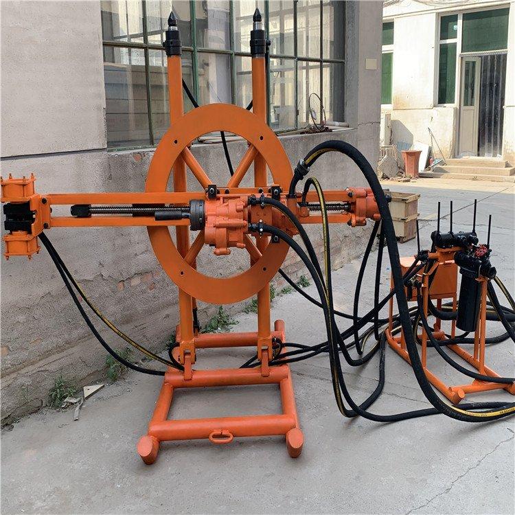 大理矿用YGZ90导轨式凿岩机 圆盘钻机价格 矿用导轨钻机