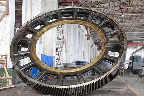 大型铸钢件铸造厂加工直径2米以上齿轮