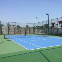 汉中市球场围栏网 网球场防护网 运动场隔离网