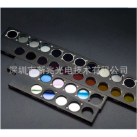 【厂家供应】生化分析仪 窄带滤光片 带通 有色玻璃基底