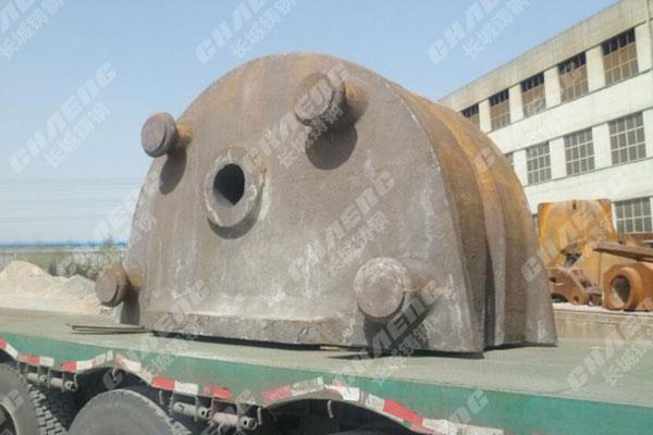 河南铸造厂加工陶瓷机设备配件横梁与底座