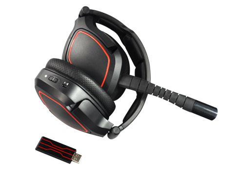 无线2.4G电J游戏耳机方案开发商 翔音科技