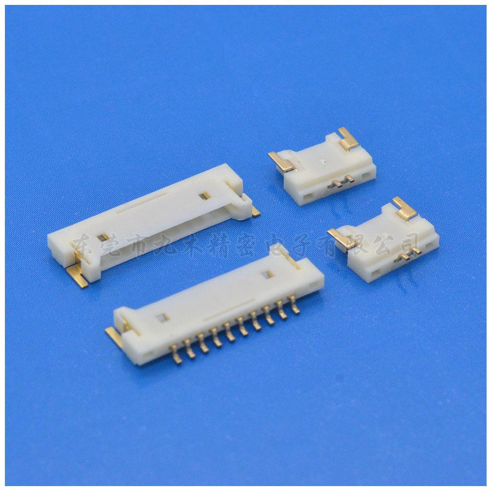 Molex 1.25超薄连接器 51146弯针SMT针座