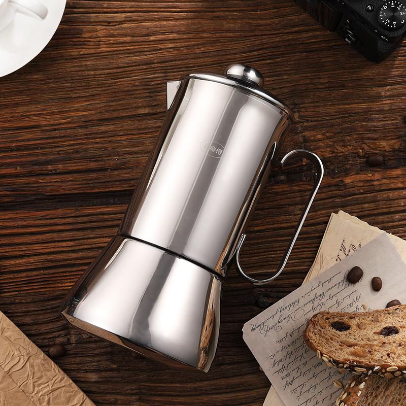 上海不锈钢真空保温咖啡壶厂家代理直销 思乐得