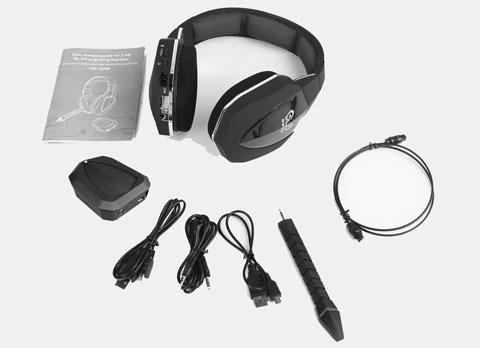 电竞无线耳麦方案定制 开发2.4G游戏耳机成品 找翔音