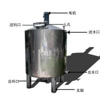 驻马店市鸿谦 液体搅拌罐 反应釜质优价廉