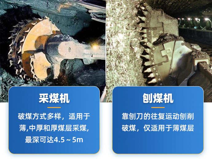 采煤机和刨煤机是一种设备吗?它们有什么区别