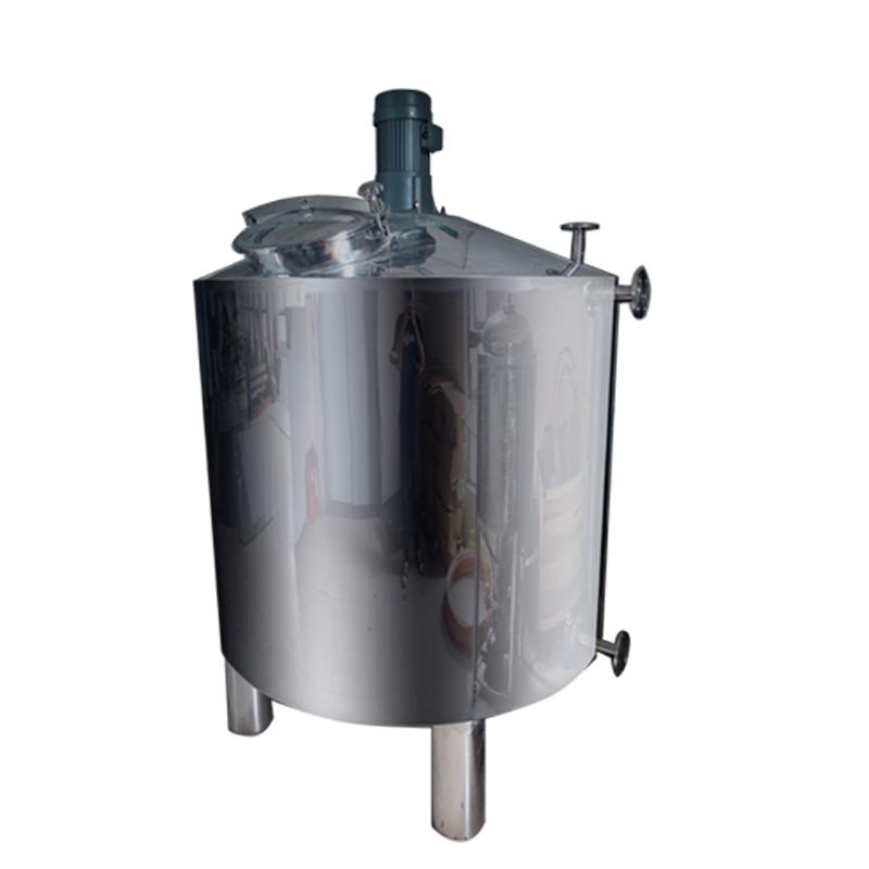 鸡泽县鸿谦 乳化配料罐 搅拌罐 支持来图定制